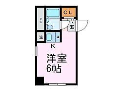 ホシオウビル[3階]の間取り
