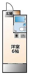 (分譲)ダイドーメゾン甲子園II[3階]の間取り