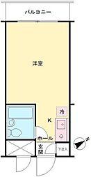 神奈川県相模原市緑区東橋本2丁目の賃貸マンションの間取り