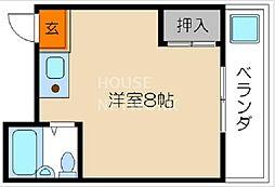 岡崎ハイツ[302号室号室]の間取り