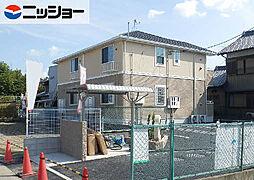 愛知県北名古屋市鍜治ケ一色村内西の賃貸アパートの外観