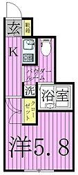 桜木ヒルズ綾瀬[3階]の間取り