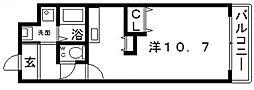 アルコローザ[6階]の間取り