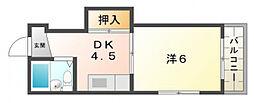 チェリーハイム[3階]の間取り