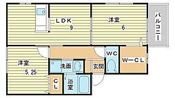 ソレイユ(神岡町)[101号室]の間取り