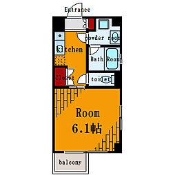 プティオリヴィエ[1階]の間取り