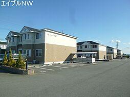 三重県松阪市西肥留町の賃貸アパートの外観