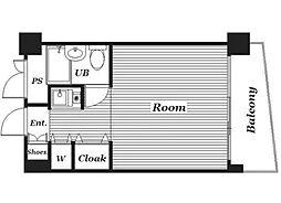 ジュヒロプラザ赤羽[7階号室]の間取り