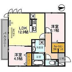 仮)D-room沢田2丁目[301号室号室]の間取り