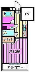 上小−MSK[203号室]の間取り