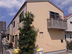 東京都八王子市小門町の賃貸アパートの外観