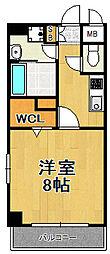 TOCCHI[9階]の間取り