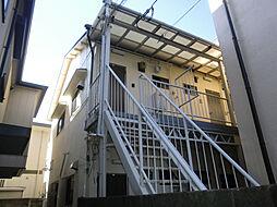 前羽アパート[1階]の外観