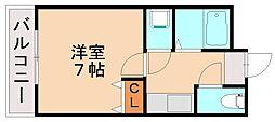 エターナル親栄[2階]の間取り