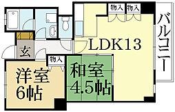 川端マンション[2階]の間取り