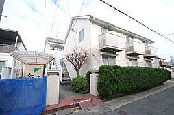 愛知県名古屋市昭和区駒方町2丁目の賃貸アパートの外観