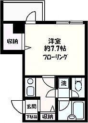 ソフィアヨコハマ[405号室号室]の間取り