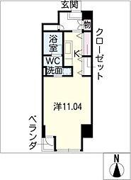 N S ZEAL 泉[10階]の間取り