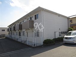 兵庫県神戸市西区押部谷町西盛の賃貸アパートの外観