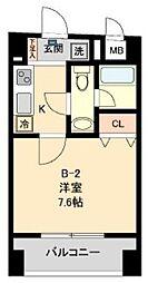コモド水天宮レジデンス[3階]の間取り