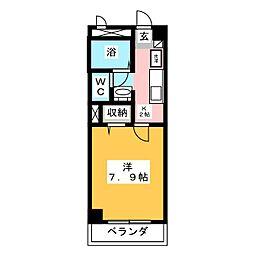 フィネス昭和町II[1階]の間取り