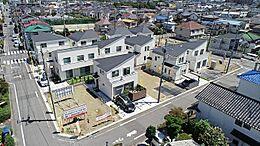緑豊かで閑静な住宅街に、統一感のある美しい街並みを実現します。