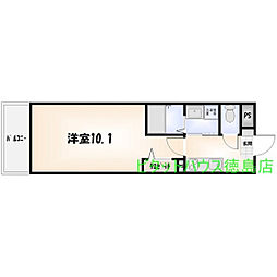 K-クレスト吉野本町[508号室]の間取り