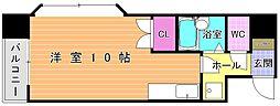ヤングコーポ北方II[301号室]の間取り
