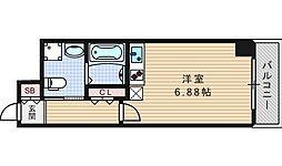 ルネ日本橋アネーロ[11階]の間取り