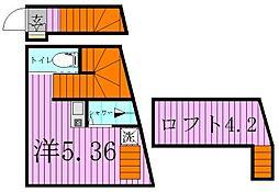 un logemeant[2階]の間取り