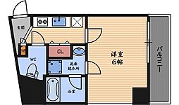 Luce Shinfukushima[2階]の間取り