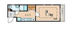 東京都杉並区西荻南2丁目の賃貸マンションの間取り