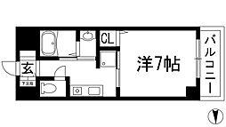 Enuz45[1階]の間取り
