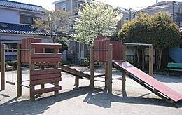 元横西公園 390m