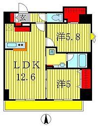 仮)八州ビル 新築工事[9階]の間取り
