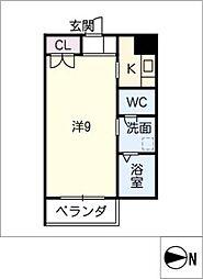 モルゲンレーテ[4階]の間取り