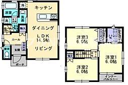 [一戸建] 香川県高松市出作町 の賃貸【/】の間取り