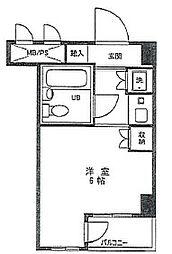 東京都葛飾区立石8丁目の賃貸マンションの間取り