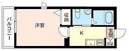 エトワール福田[1階]の間取り