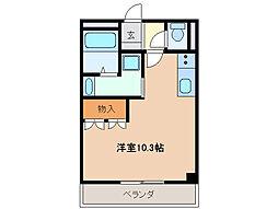 三重県四日市市内堀町の賃貸アパートの間取り