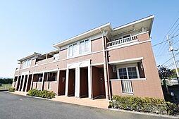 埼玉県日高市旭ケ丘の賃貸アパートの外観