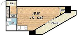 スタジオ64[3階]の間取り