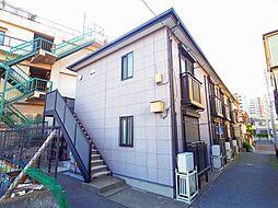 東京都西東京市柳沢1丁目の賃貸アパートの外観