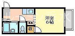 ルシエール星陵台[2階]の間取り