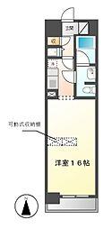 BPRレジデンス久屋大通公園(旧フェリーチェ・カーサ泉[5階]の間取り