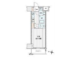 プリモレガーロ町田[12階]の間取り