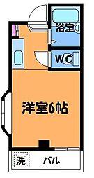 東京都三鷹市大沢4丁目の賃貸マンションの間取り