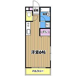 サンフォート[2階]の間取り