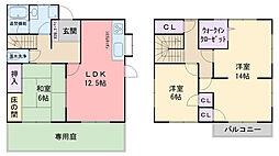 [一戸建] 福岡県糸島市板持1丁目 の賃貸【/】の間取り