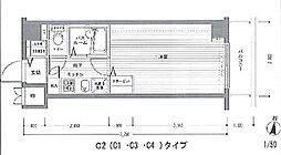 レジディア多摩川 bt[-107号室]の間取り